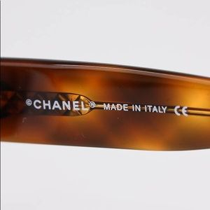CHANEL Accessories - Authentic Chanel Tortoise Sunglasses